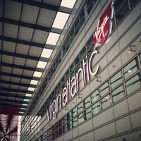 Photo taken at Virgin Atlantic Check-In by That John on 3/11/2013