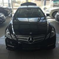 Photo taken at Mercedes-Benz by Emir Ç. on 1/17/2013