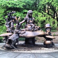 Photo taken at Alice in Wonderland Statue by Vickie L. on 5/21/2013