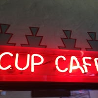 Photo taken at The Cup Cafe by Gary M. on 2/10/2013