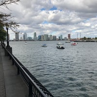 Photo taken at Battery Park City by Gary M. on 10/24/2016