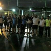 Photo taken at Işık Halı Saha by Barış A. on 8/13/2016