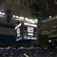 Photo taken at Crown Coliseum by Earl N. on 2/8/2013