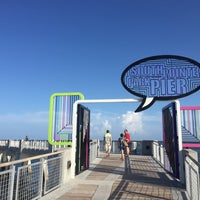 Photo taken at South Pointe Pier by Yaron K. on 8/5/2016