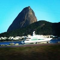 Photo taken at Enseada de Botafogo by Hans B. on 12/24/2012