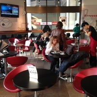 Photo taken at Aroma Espresso Bar by Dan. P. on 11/28/2012