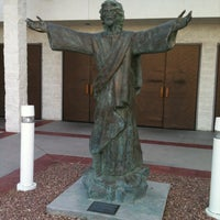 Photo taken at Shrine of the Most Holy Redeemer by Jenny S. on 4/1/2013