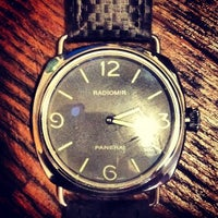 Photo taken at Officine Panerai Boutique NYC by spencer worldwide g. on 11/22/2013