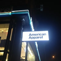 Photo taken at American Apparel by Mister P. on 11/21/2013