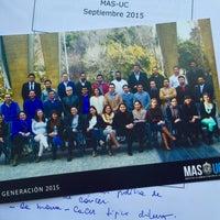 Photo taken at Edificio MBA PUC by Marcelo O. on 9/23/2015