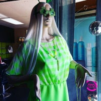 Photo taken at The Chameleon Hair Lounge and Boutique by yvette J. on 2/25/2016