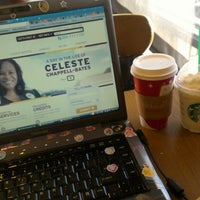 Photo taken at Starbucks by Harmoney V. on 11/8/2012