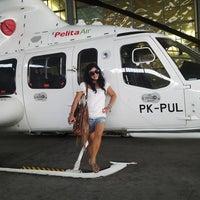 Photo taken at Bandar Udara Pondok Cabe (PCB) by Laura F. on 11/10/2013