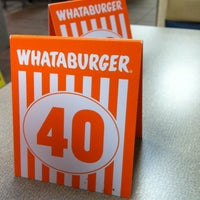 Photo taken at Whataburger by Cody R. on 3/11/2013