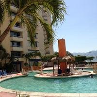 Photo taken at Hotel Playa Suites by Guy Jan R. on 2/21/2013