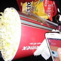 Photo taken at Cinemex by Priscila P. on 6/9/2016