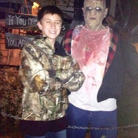 Photo taken at Land Of Illusion Haunted Theme Park by Kirk R. on 10/15/2012