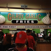 Photo taken at Gilroy Garlic Fries by Michael D. on 8/11/2013