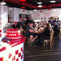 Photo taken at Five Guys by Jonathan B. on 4/7/2012