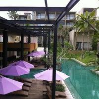 Photo taken at Centra Taum Resort Seminyak by Pat S. on 5/14/2012