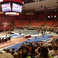 Photo taken at Lloyd Noble Center by Bill D. on 3/24/2012