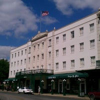 Photo taken at The Menger Hotel by Rudy L. on 4/20/2012