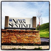 Photo taken at Knoxville News Sentinel by Christopher E. on 3/16/2012