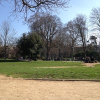 Photo taken at Parc Monceau by Gary C. on 3/12/2012
