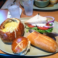 Photo taken at Panera Bread by Crystal R. on 3/24/2012