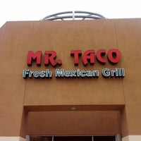 Photo taken at Mr Taco : Fresh Mexican Grill by Kenneth K. on 6/14/2012