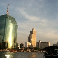 Photo taken at Khlong San Pier by Kongkit T. on 3/6/2012
