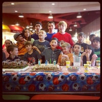 Photo taken at Peter Piper Pizza by Oscar T. on 3/24/2012