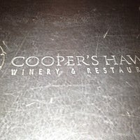 Photo taken at Cooper's Hawk Winery & Restaurant by Tom K. on 5/29/2012