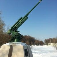 Photo taken at Памятник 347 Зенитно-артилейскому Полку by Роман Г. on 3/9/2012