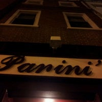Photo taken at Panini's Trattoria, Italian Grill by Sa Rah G. on 3/14/2012