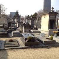Photo taken at Cimetière du Montparnasse by Drew G. on 3/22/2012