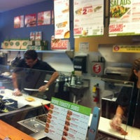 Photo taken at Quiznos by Dimarco @. on 3/15/2012