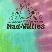 Photo taken at Mad Willie's Ice Cream by Charlie P. on 3/12/2012