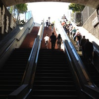 Photo taken at 24th St. Mission BART Station by Andy K. on 8/18/2012