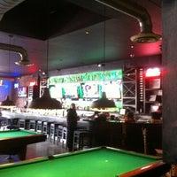 Photo taken at Break Bar & Billiards by Jo R. on 5/7/2012