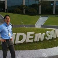 Photo taken at 삼성인력개발원 창조관 by David C. on 6/22/2012