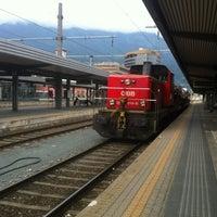 Das Foto wurde bei Innsbruck Hauptbahnhof von Christian P. am 9/3/2012 aufgenommen
