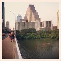 Photo taken at Ann W. Richards Congress Avenue Bridge by Ben T. on 6/11/2012