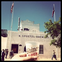 Photo taken at Spoetzl Brewery by Yesi D. on 3/23/2012