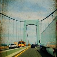 Photo taken at Throgs Neck Bridge by Scott on 8/24/2012
