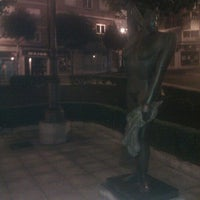 Photo taken at Plaza De La Paz by Hugo R. on 11/27/2011