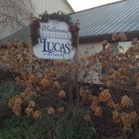Photo taken at Lucas Vineyards by Adrienne K. on 11/25/2011