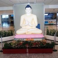 Photo taken at Bandaranaike Int'l Airport (CMB) by Nathan ~. on 10/18/2011