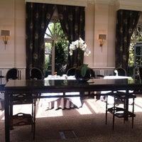 Photo taken at Chewton Glen Hotel & Spa by Liz F. on 8/5/2012