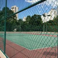 Photo taken at Vista Kiara Tennis Court by Vincent T. on 2/11/2012